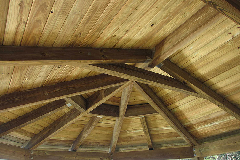 Tongue groove roof decking davis timber for Tongue and groove roof decking